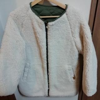ロキシー(Roxy)の【新品タグ付き】ROXY レディース ボアジャケット MERINGUE COAT(ノーカラージャケット)