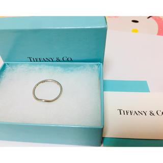 Tiffany & Co. - ティファニー カーブドバンド リング シルバー 13号