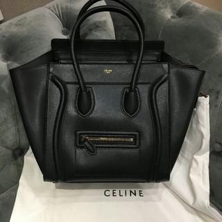 celine - CELINE 極美品!セリーヌ ラゲージ ナノ ショッパー
