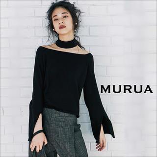 MURUA - MURUA スリットスリーブ トップス ニット カットソー♡GYDA エモダ