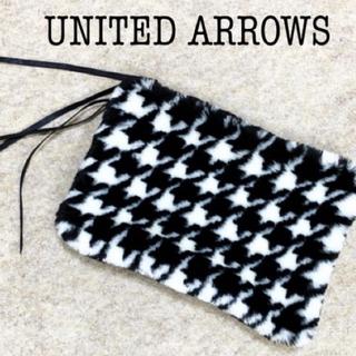 ユナイテッドアローズ(UNITED ARROWS)のUNITED ARROWS ファー クラッチ バッグ(クラッチバッグ)