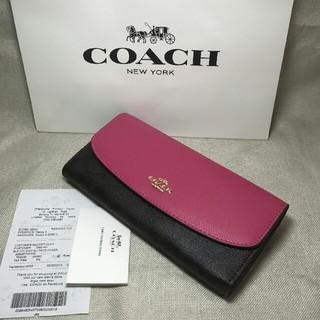 COACH - ★新品★ COACH コーチ 長財布  財布  54022