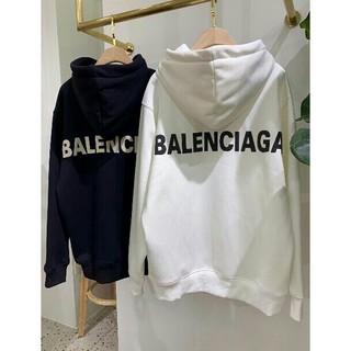 Balenciaga - 高品質 バレンシアガ 2色 裏起毛 男女兼用パーカー カジュアル