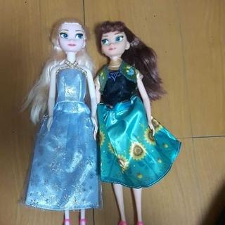 アナトユキノジョオウ(アナと雪の女王)のアナと雪の女王 (ぬいぐるみ/人形)