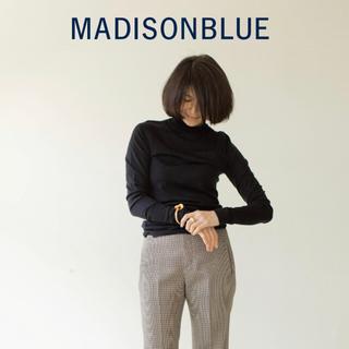 MADISONBLUE - 【MADISONBLUEマディソンブルー】ウールハイゲージタートルニット/00