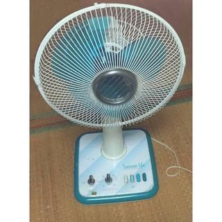 ミツビシデンキ(三菱電機)の三菱電機製 リビング扇風機 R308-W サマーライフ 昭和時代 レトロ 中古品(扇風機)