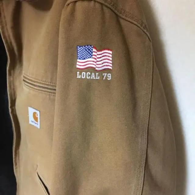 carhartt(カーハート)のカーハート ジャケット ブラウン メンズのジャケット/アウター(ブルゾン)の商品写真
