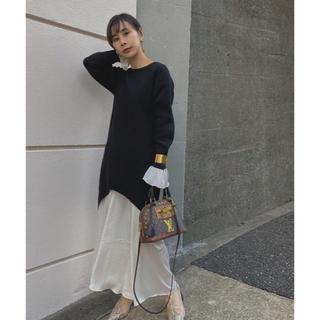 アメリヴィンテージ(Ameri VINTAGE)のKNIT DRESS (ロングワンピース/マキシワンピース)