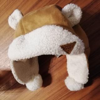 petit main - Petit main プティマイン ベビー フライトキャップ 帽子 プチマイン