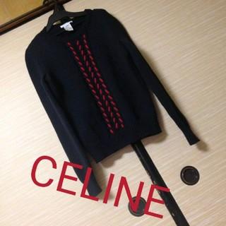 celine - 男女兼用CELINEニット ネイビー