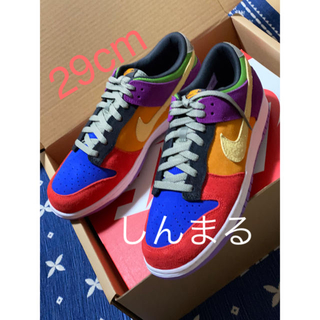 ナイキ(NIKE)のNIKE dunk low sp viotech 29cm(スニーカー)