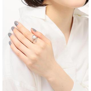 エテ(ete)のJouete ムーンストーンフォークリング♯13号(リング(指輪))
