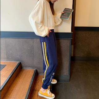 【残りわずか♡】サイドラインスポーツMIXカラフルパンツ(カジュアルパンツ)