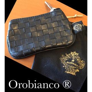 オロビアンコ(Orobianco)のオロビアンコ Oobianco キーコインケース イントレチャート(コインケース/小銭入れ)