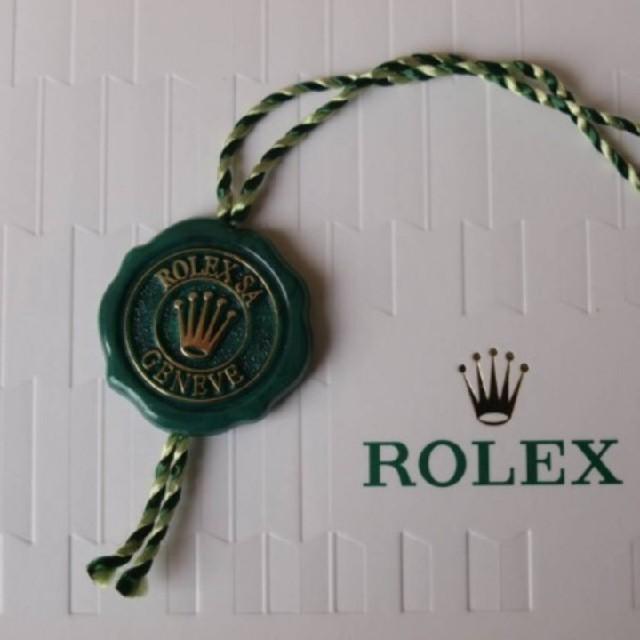 gmt オメガ | ROLEX - 大特価!! ロレックス クロノメータータグ 10個セット グリーン 新品取り外しの通販 by 金持ち段ボール's shop