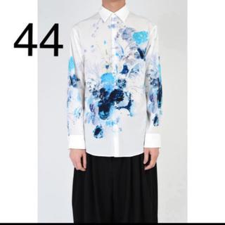 ラッドミュージシャン(LAD MUSICIAN)の19ss スタンダードシャツ 44  花柄 新品(シャツ)