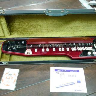 R33053 鈴木楽器 大正琴 蘭 ソプラノ 専用ケースピック付 SUZUKI(大正琴)