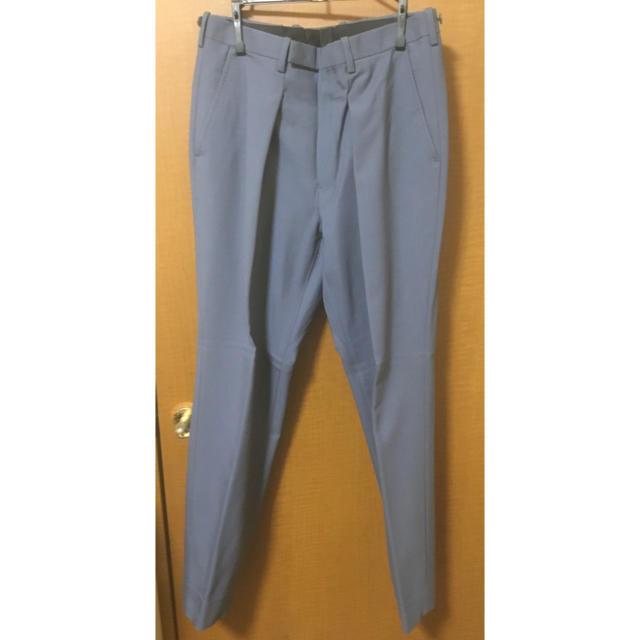LAD MUSICIAN(ラッドミュージシャン)のLAD MUSICIAN ブルーグレーセットアップ size 42 メンズのスーツ(セットアップ)の商品写真