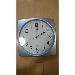 カシオ(CASIO)の【美品】カシオ 静音 壁掛け時計(掛時計/柱時計)