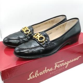 サルヴァトーレフェラガモ(Salvatore Ferragamo)のサルヴァトーレフェラガモ ガンチーニ 4B(約21cm) ローファー(ローファー/革靴)