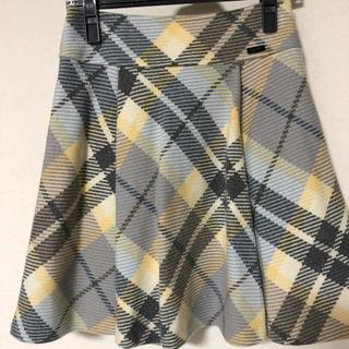 バーバリーブルーレーベル(BURBERRY BLUE LABEL)のバーバリー クレストブリッジ スカート(ひざ丈スカート)