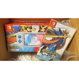 Nintendo Switch - Nintendo Switch Lite ザシアン・ザマゼンタ ポケモンソード
