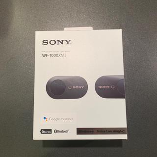 SONY - SONY wf-1000xm3 ワイヤレスイヤホン【送料無料】