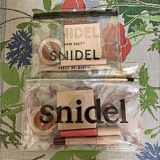 スナイデル(snidel)の未使用 sweet×snidel 春、秋色コスメセット(コフレ/メイクアップセット)