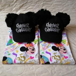 Disney - ディズニーリゾート 35周年限定 キャップ&Tシャツ4点セット