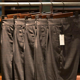 SUNSEA - stein×input ONETACK TAPARED TROUSERS