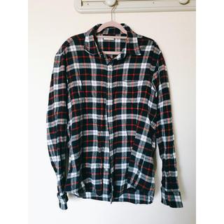 GU - GU ジーユー チェックシャツ