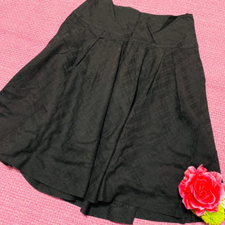 バーバリーブルーレーベル(BURBERRY BLUE LABEL)のburberryバーバリーブルーレーベル❤︎チェック柄スカート(ひざ丈スカート)