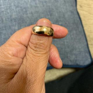 k18金・シンプル・リング(リング(指輪))