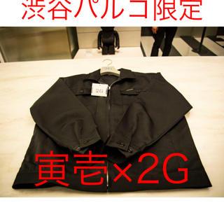 トライチ(寅壱)の限定品 黒L 寅壱 2G メディコムトイ シャツ ジャケット 渋谷パルコ 限定(その他)