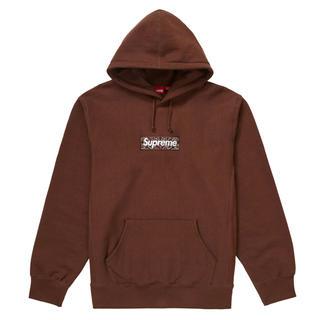 Supreme - Supreme Box logo Dark Brown