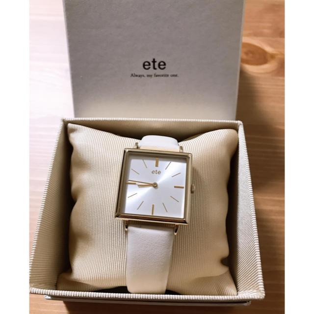 ete(エテ)のete時計 レディースのファッション小物(腕時計)の商品写真