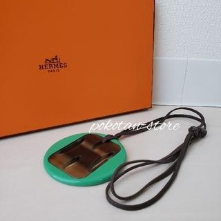 Hermes - 極美品【エルメス】バッファローホーン ラッカー ペンダント ネックレス