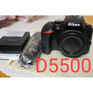 Nikon - 【美品完動品】NIKON D5500本体 ショット数1800回