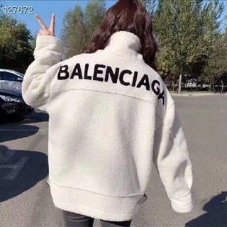 Balenciaga - BALENCIAGA綿入れコート/ 白い