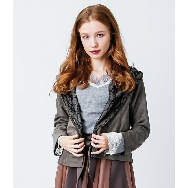 axes femme(アクシーズファム)のスエードライダース☆ レディースのジャケット/アウター(ライダースジャケット)の商品写真