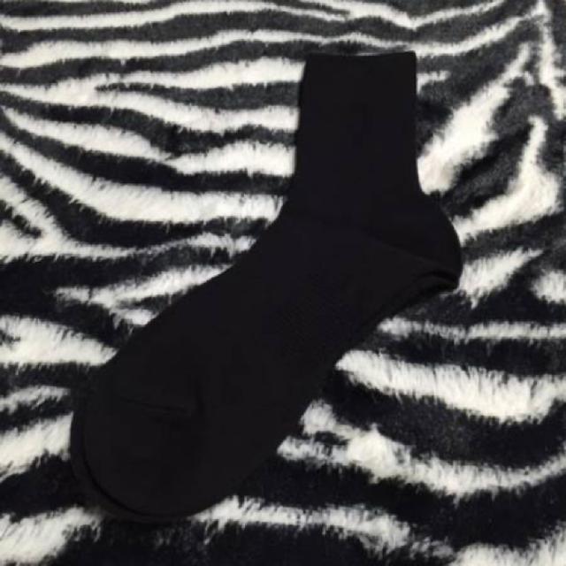 シャルレ(シャルレ)のシャルレ レギュラーソックス ブラック 3足入 HE024 新品 快適靴下★ レディースのレッグウェア(ソックス)の商品写真
