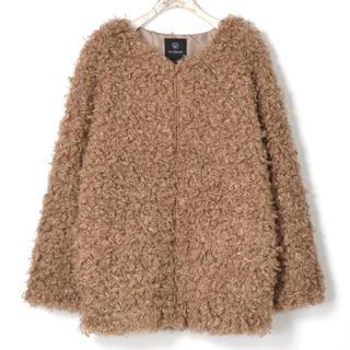ダブルクローゼット(w closet)のプードルコート(毛皮/ファーコート)