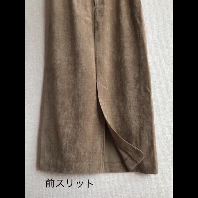 URBAN RESEARCH(アーバンリサーチ)のスエード調タイトスカート*アーバンリサーチ レディースのスカート(ロングスカート)の商品写真
