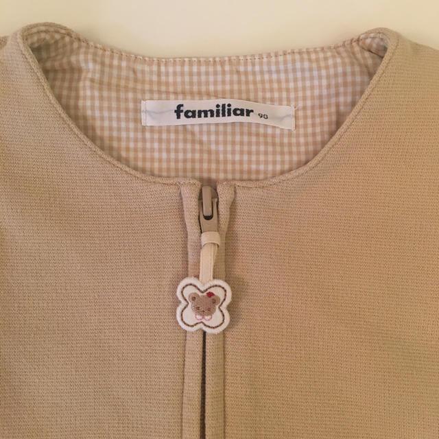 familiar(ファミリア)のファミリア  ワンピース  サイズ90 キッズ/ベビー/マタニティのキッズ服女の子用(90cm~)(ワンピース)の商品写真