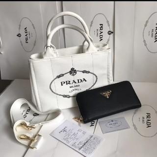PRADA - 大人気PRADA CANAPAトートバッグ