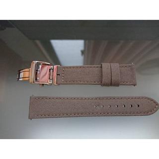 セイコー(SEIKO)のモレラートファブリックベルト 新品 セイコー純正バックル、バネ棒付き ラグ幅20(その他)