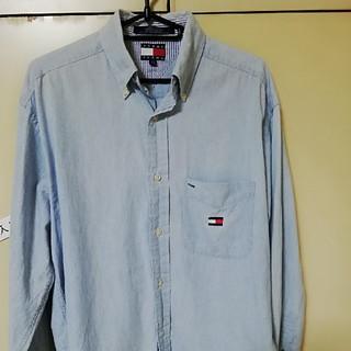 トミーヒルフィガー(TOMMY HILFIGER)のトミージーンズ BDシャツ バックロゴ トミーヒルフィガー(シャツ)