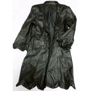 コムデギャルソン(COMME des GARCONS)のDeformation Cow Leather Coat vintage(レザージャケット)