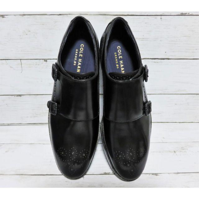 Cole Haan(コールハーン)のCOLE HAAN Hamilton Grand Double Monk 8  メンズの靴/シューズ(ドレス/ビジネス)の商品写真