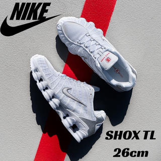 NIKE - 【新品・最安値】NIKE SHOX TL ナイキ ショックス ホワイト 26cm